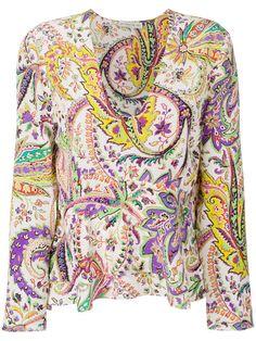 Shoppen Etro printed blouse.
