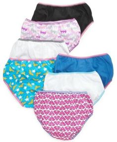 Justice League Cotton Underwear, 7-Pack, Little Girls & Big Girls - Justice League 6