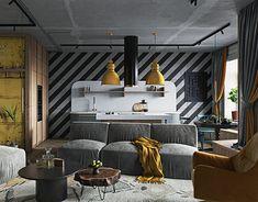 Industrial Living, Industrial Style, How To Clean Furniture, Modern Furniture, Gold Interior, Interior Design Studio, Vases Decor, Accent Decor, Decoration