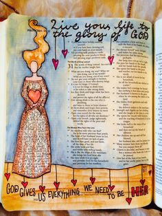 Proverbs 31 journaling bible post