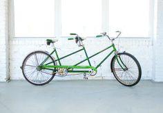 Emerald tandem bike.  Hell yeah.