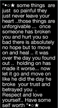 For a friend who's husband was/is unfaithful.