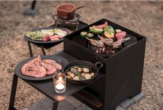 flames low style BBQ grill - [ flames ]フレイムス公式オンラインストア Bbq Grill, Grilling, Table Decorations, Food, Product Design, Garlic, Camping, Style, Outdoor
