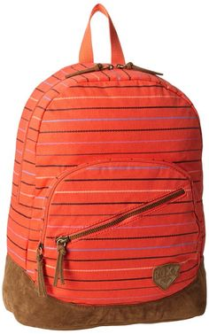 Roxy Juniors Lately Backpack, Cherry Red, One Size