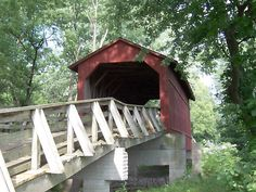 Covered bridge - Route 66 - Illinois