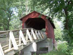 Covered bridge - Route 66 - Illinois