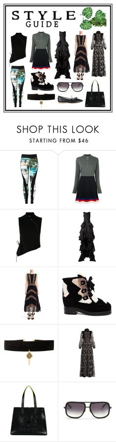 """""""Style Guide"""" by cate-jennifer ❤ liked on Polyvore featuring Lygia & Nanny, J.W. Anderson, Ann Demeulemeester, Maticevski, Tracy Reese, Laurence Dacade, Vanessa Mooney, Giambattista Valli, Kenzo and Dita"""
