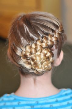 girlshue - Cool, Fun & Unique Kids Braid Designs | Simple & Best Braiding Hairstyles For Kids 2012