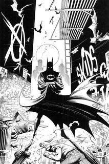 Nice Norm Breyfogle Batman piece.