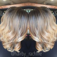 Stretched root balayage highlight   Hair by Rachel Fife @ Sara Fraraccio Salon in Akron, Ohio