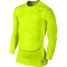 Nike Pro Core compression manches longues t-shirt course à pied - Nike Long Sleeve, Long Sleeve Shirts, Compression T Shirt, Nike Pro Combat, Nike Pros, Courses, Workout Shirts, Nike Men, Sweatshirts