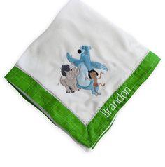 #Disney Store The Jungle Book Plush Soft Nursery Blanket Baby Baloo Hathi Mowgli from $18.95