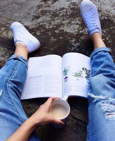 Tea, Coffee, and Books Soft Grunge, Tumblr Quality, Wattpad, Disney Instagram, Instagram Girls, Instagram Ideas, Indie, Landscape Illustration, Illustration Art