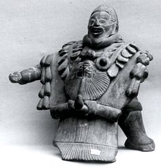 Standing Figure  Date:     8th–9th century Geography:     Mexico, Mesoamerica, Yucatan Culture:     Maya Medium:     Ceramic