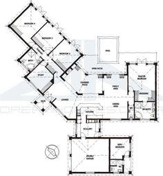 4 bedroom modern house plans south africa design ideas 20172018