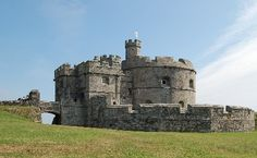 Pendennis Castle, one of our 4 castles you should visit in Cornwall: http://www.thevalleycornwall.co.uk/blog/2015/08/14/4-historic-castles-to-visit-in-cornwall/
