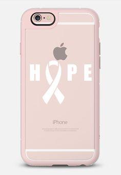 Breast Cancer Riboon - Hope (transparent) by Vivi Furlong   @casetify