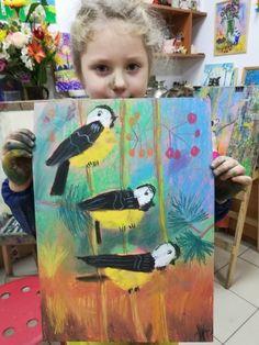 Рисование детям. ИЗОстудия. Просвещения 62. Kids Art Class, Art For Kids, Art Sites, Expressive Art, Art School, Summer Fun, Cool Art, Art Projects, Birds