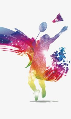Badminton poster material PNG and PSD Badminton Smash, Badminton Photos, Badminton Sport, Shuttle Badminton, Sports Painting, Cute Pokemon Wallpaper, Creative Poster Design, Instagram Frame, Sport Photography