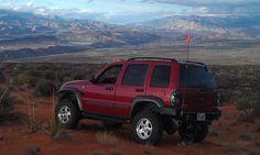 Lifted Jeep Liberty I want those lights