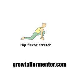 Hip Flexor Stretch - Grow Taller Exercises