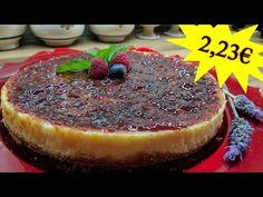 Tarta de queso y frambuesa por menos de 3 euros #TartaPorMenosDe3euros - YouTube