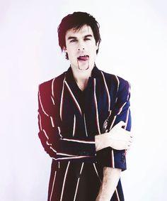 The Vampire Diaries ! Ian Somerhalder  as Damon Salvatore :))) xD