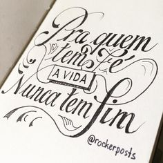 Pra quem tem fé a vida nunca tem fim #tbt #orappa #rockbrasil