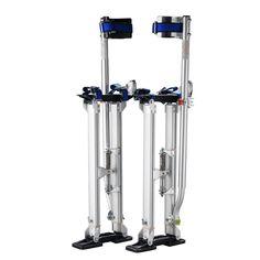 "Pentagon Tool Professional 18""-30"" Silver Drywall Stilts Highest Quality"