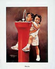 Image Detail for - african american art, african american, black art painting, black art, beautiful painting of sisters
