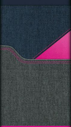 Blue Grey and Pink Denim Wallpaper
