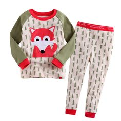 Super cute Fox pyjama set. Click through for a curated list of cool fox items.