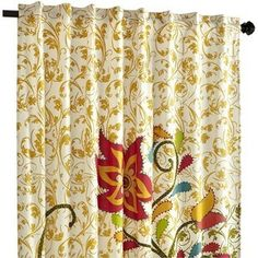 nature's floral curtainfor living room @roxana perez what do
