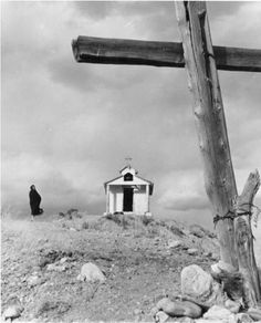 Penitente chapel near Chimayo, New Mexico :: Palace of the Governors Photo Archives Collection