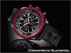 Breitling Chronomatic Blacksteel - Have this watch in the store!  Beautiful.  Limited Edition