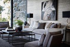 Home Decor Styles Contemporary Interior Design, Interior Design Living Room, Living Room Designs, Living Room Lounge, Home Living Room, Living Room Inspiration, Home Decor Inspiration, Luxury Homes Interior, Home Decor Styles