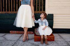 Tulle skirt Bridal skirt White tulle skirt Mommy and by EllaEman