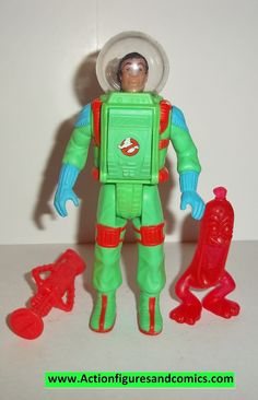 ghostbusters WINSTON ZEDDMORE super fright features 1989 complete the real kenner action figure