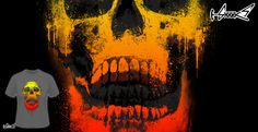 T-shirts - Design: Urban Skull - by: Lou Patrick Mackay