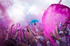 Color Party with Color Runners