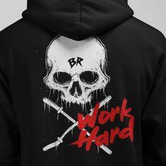 Work hard anywhere Barbell Rocker hoodie! Weightlifting, Powerlifting, Barbell, Crossfit, Work Hard, Hooded Sweatshirts, Hoods, Athlete, Fitness