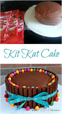 An easy and delicious Kit Kat cake recipe.