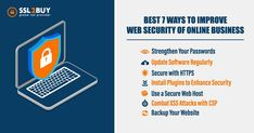 Are you looking for secure your website? Here we have detailed information how to improve website security with proven 7 ways For More Details :- Web Security, Website Security, Security Certificate, Cyber Security Awareness, Online Business
