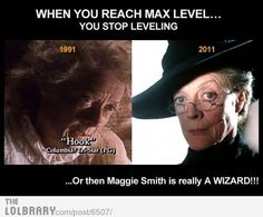 Maggie Smith is a Wizard | LOLBRARY.COM