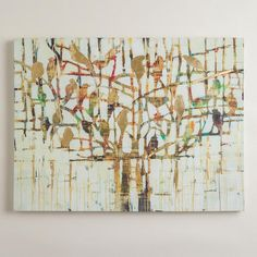 One of my favorite discoveries at WorldMarket.com: 'Gold Trees' by Liz Jardine