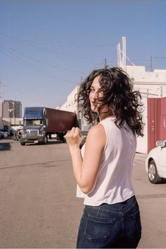 """There is nothing obvious about """"Obvious Child"""" star JENNY SLATE in Catalogue Magazine. Hair by ROD ORTEGA"""