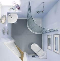 Desain Kamar Mandi Minimalis ukuran Kecil   Rumah Minimalis   RumahDSGN.com