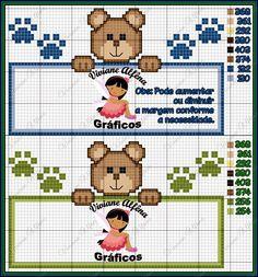 Viviane Alfêna: Mono dos ursinhos (pequenos)