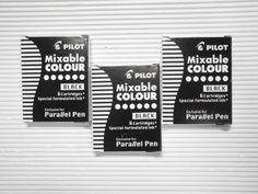 PILOT-fountain-pen-Parallel-Pen-cartridge-IC-P3-S6-Black-ink-30pcs