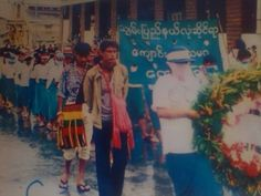 Burma 8888 democracy uprising in 1988 at taunggyi